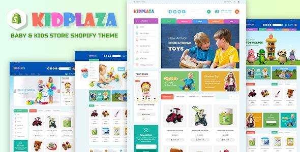 KidPlaza | Baby & Kids Store Shopify Theme - Shopify eCommerce