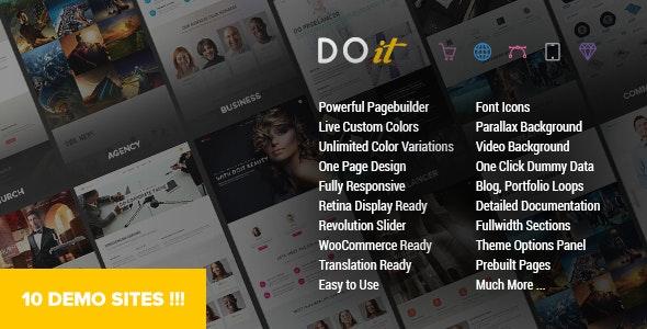 DOIT - Creative MultiPurpose Theme - Creative WordPress