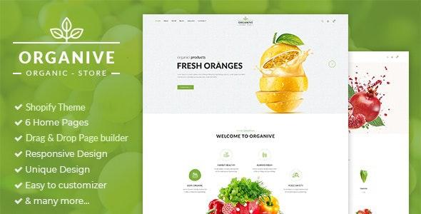 Organive - Responsive Shopify Theme - Shopify eCommerce