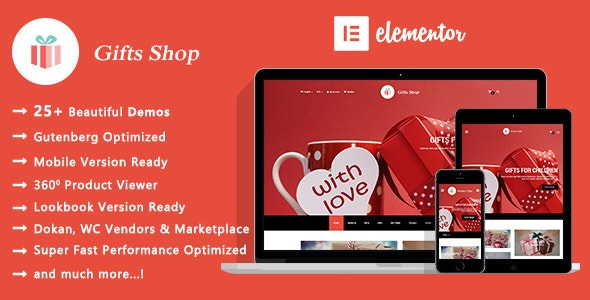 Gifts Shop | Handmade Souvenirs WooCommerce WordPress Theme - WooCommerce eCommerce