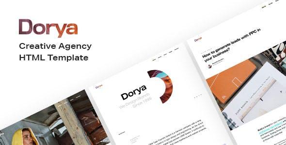 Download Dorya   Creative Agency HTML Template