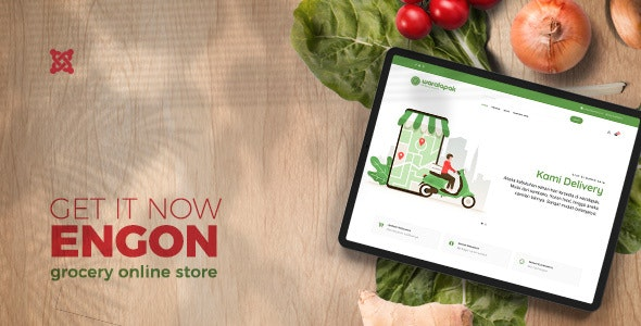 Engon - Grocery Online Store Templates - Food Retail