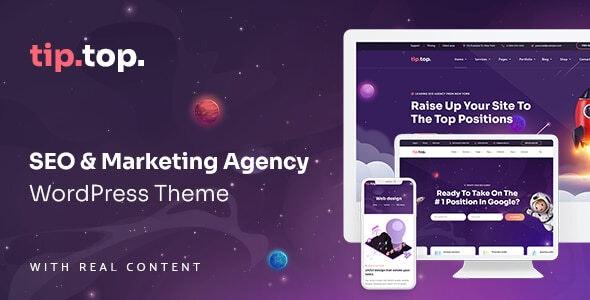 TipTop - SEO Marketing Agency WordPress Theme - Marketing Corporate