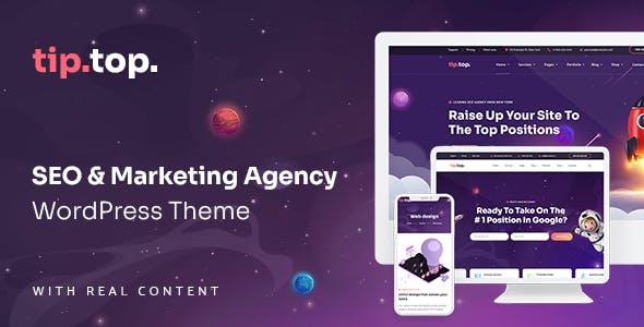 TipTop - SEO Marketing Agency WordPress Theme