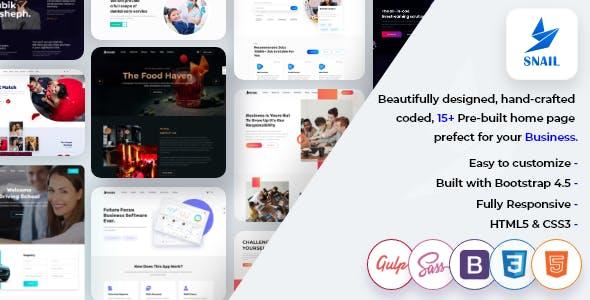Download SNAIL - Creative Multipurpose HTML5 Templates