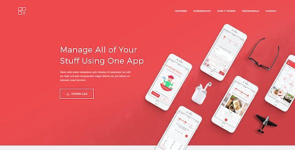 Meson - App Landing WordPress Theme