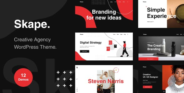 Download Skape - Creative & Modern Agency WordPress Theme