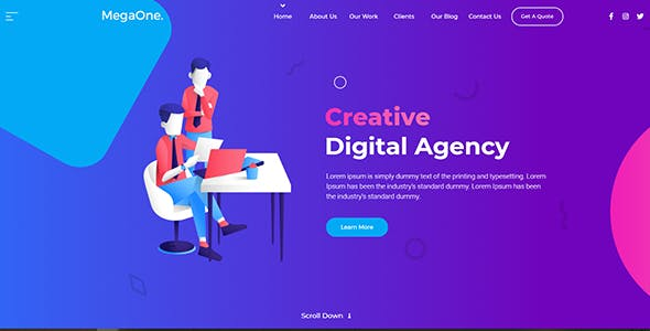 2020 S Best Selling Html Templates And Html Website Templates