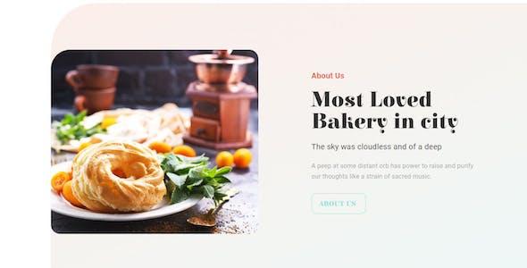 Bakekit - Food and Cake Elementor Template