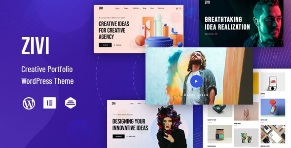 Zivi - Contemporary Creative Agency Theme - Portfolio Creative