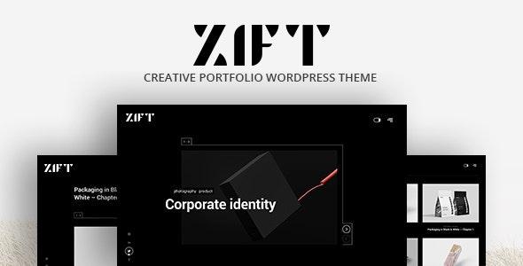 Zift - Creative WordPress Portfolio - Portfolio Creative