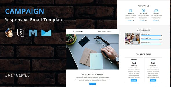 Campaign - Responsive Email Template