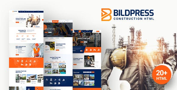 Bildpress - Construction & Architecture HTML Template
