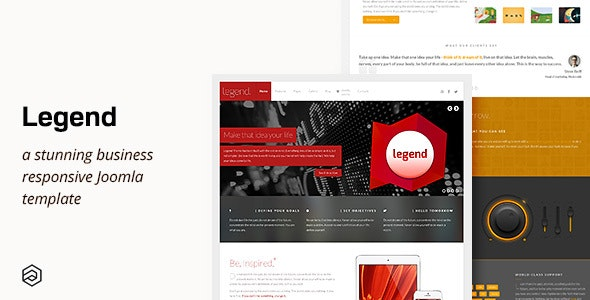 Legend - Responsive Multi-Purpose Joomla Template - Corporate Joomla