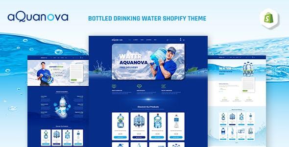 Aquanova   Bottled Drinking Water Shopify Theme