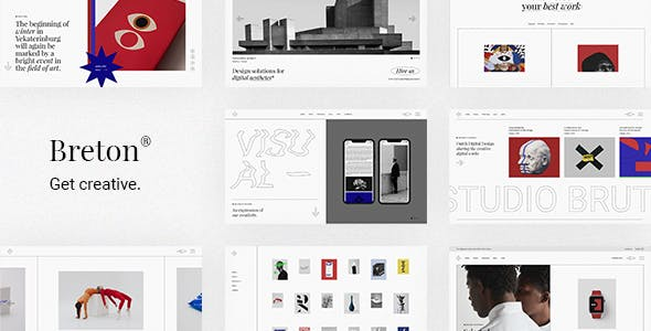 Breton - Creative Agency Theme