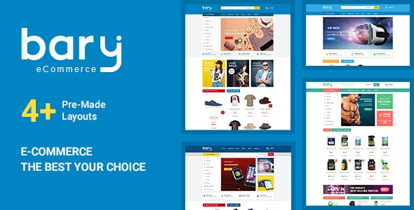 Bary - Responsive eCommerce HTML Template - Fashion Retail