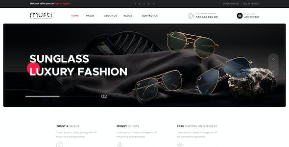 Mufti - Multipurpose e-Commerce PSD Template