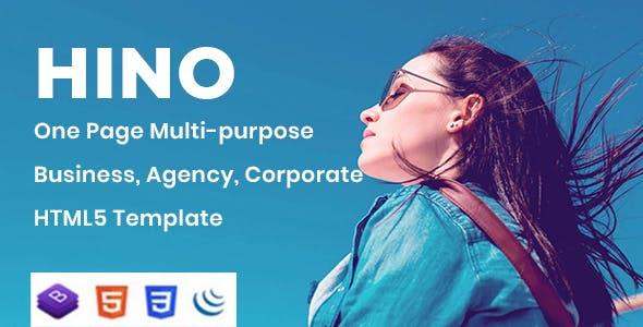 Download Hino - Multipurpose Business HTML Template