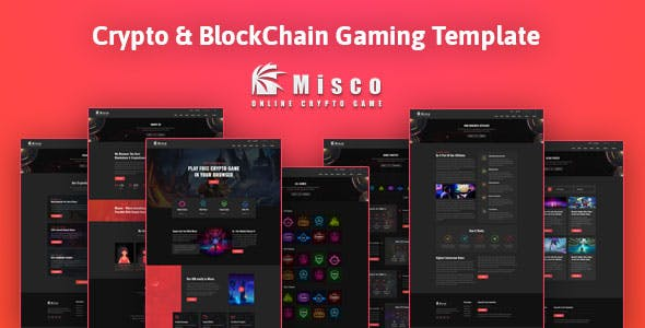 Download Miscoo - CryptoGaming HTML Template