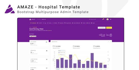Amaze - Multipurpose Admin Template ui kit