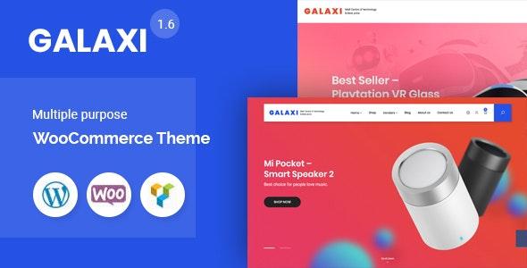 Galaxi - Tech WooCommerce WordPress Theme - WooCommerce eCommerce