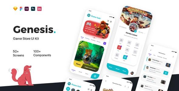 Genesis - Game Store UI Kit - UI Templates
