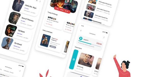 Genesis - Game Store UI Kit
