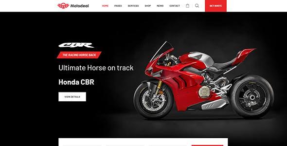 Motodeal - Car Dealer & Classified WordPress Theme