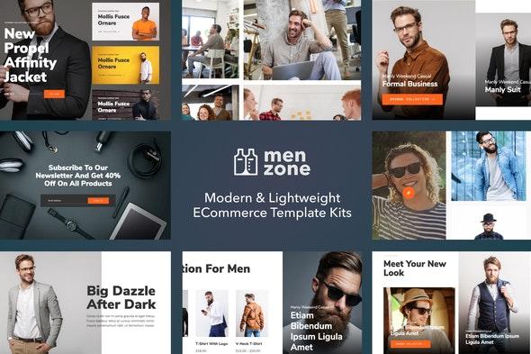 Menzone - Modern eCommerce Template Kit - Shopping & eCommerce Elementor