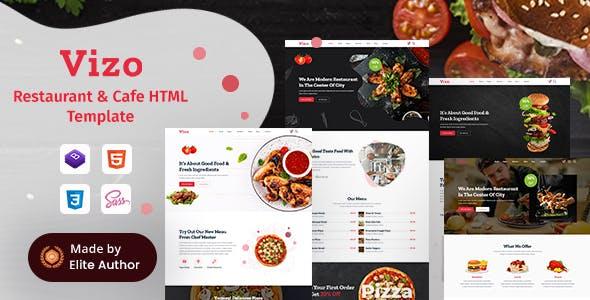 Download Vizo - Restaurant & Cafe HTML Template