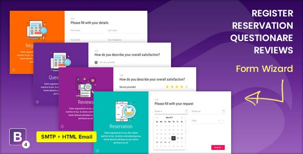 Mavia   Register and Multipurpose Form Wizard - Specialty Pages Site Templates