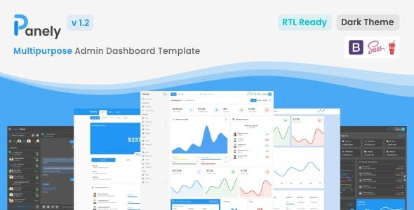 Download Panely - Bootstrap Multipurpose Admin Dashboard Template