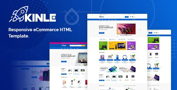 Download Kinle - Responsive eCommerce HTML Template