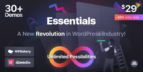 Download Essentials | Multipurpose WordPress Theme