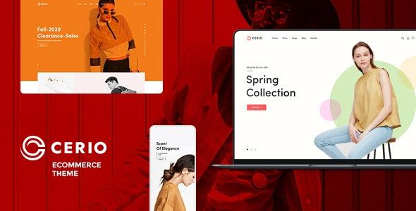 Cerio – Fashion WooCommerce WordPress Theme - WooCommerce eCommerce