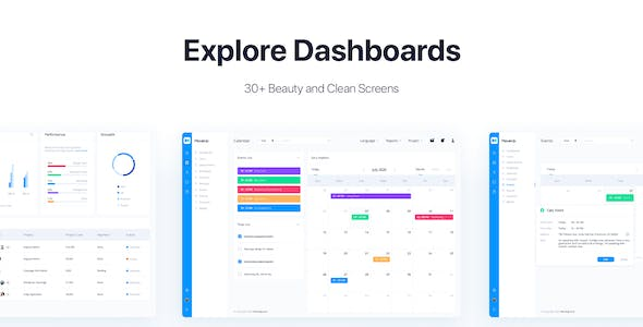 MoveUp - HR Management Admin Template for Sketch
