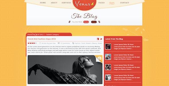 Venus - Beauty Center PSD Template