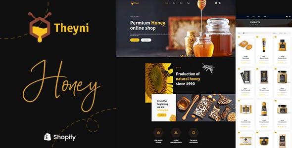 Theyni - Organic Food, Honey Shop Shopify Theme