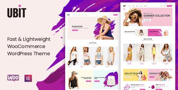 Ubit - Fashion Store WooCommerce Theme - WooCommerce eCommerce