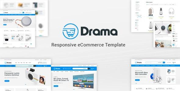 Drama - Responsive Electronics eCommerce HTML Template - Shopping Retail