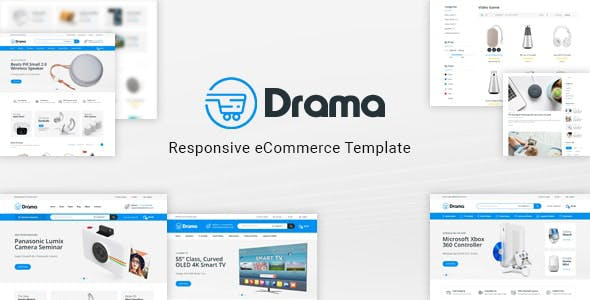 Download Drama - Responsive Electronics eCommerce HTML Template
