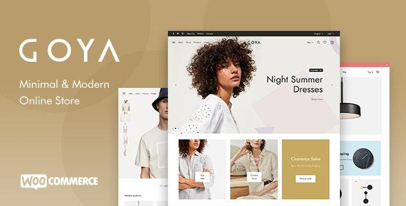 Goya v1.0.6.5 – Modern WooCommerce Theme