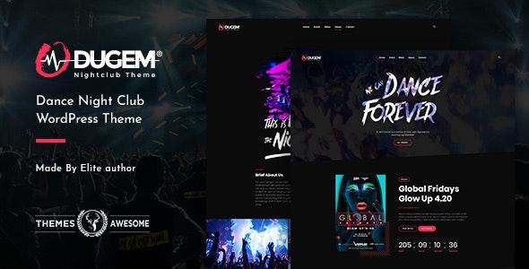Dugem | Dance Night Club WordPress Theme - Entertainment WordPress