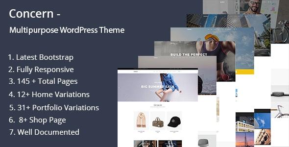 Concern - Multipurpose and Portfolio WordPress Theme - Portfolio Creative