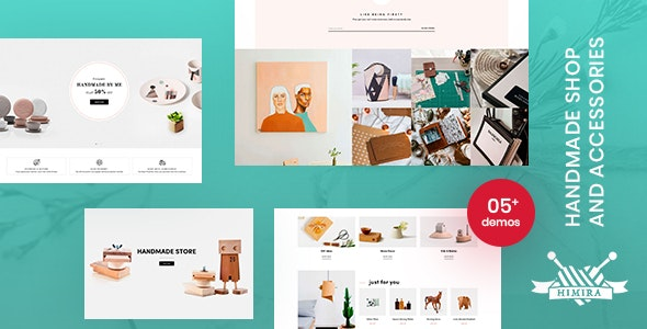 Himita - Handmade Shop And Accessories Shopify Theme - Shopify eCommerce