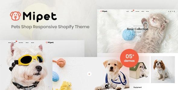 Mipet - Pets Shop Responsive Shopify Theme - Shopify eCommerce