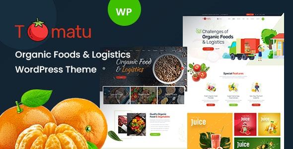 Tomatu - Organic Food WordPress Theme - Food Retail