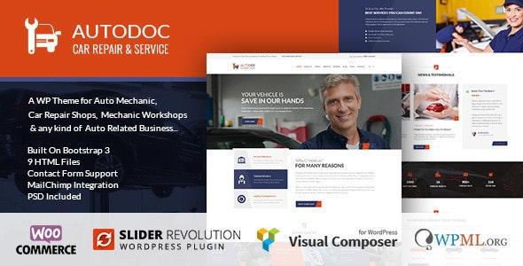 Autodoc - Car Repair Theme - Business Corporate