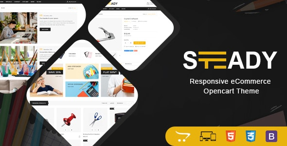 Steady - Stationary OpenCart Theme - Shopping OpenCart